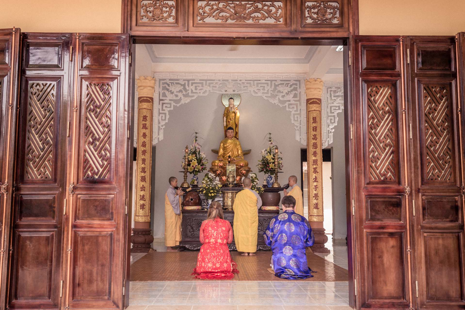 Wedding Vietnam Budda 002
