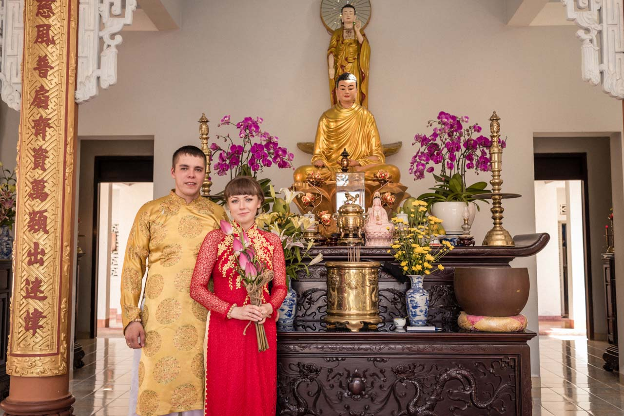 Wedding Vietnam Budda 012