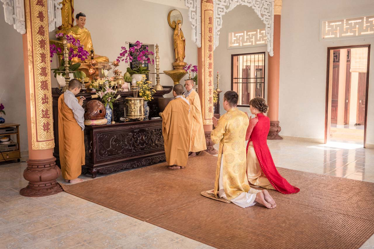 Wedding Vietnam Budda 015