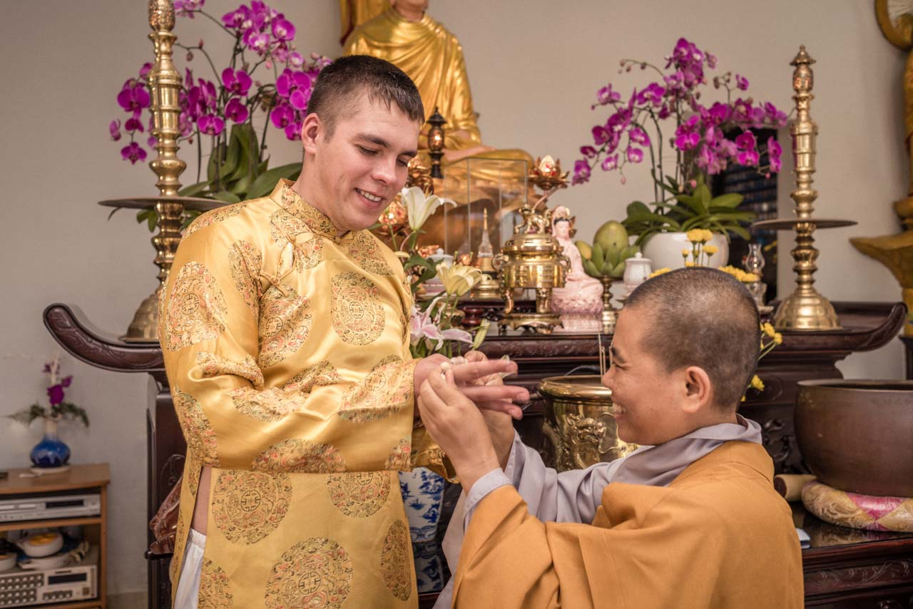 Wedding Vietnam Budda 3